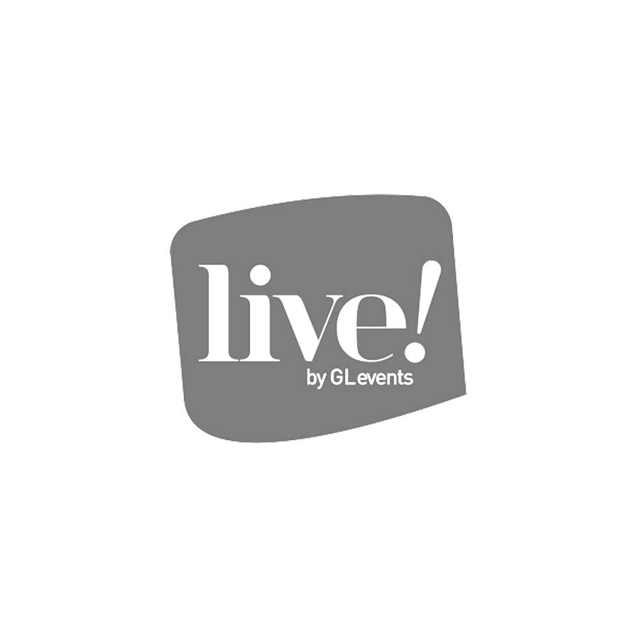 Live by GL Events - logo